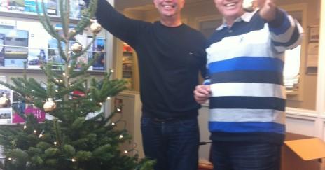 Directie en medewerkers van Akse Media wensen iedereen gezellige feestdagen en een 'piek'fijn 2013!